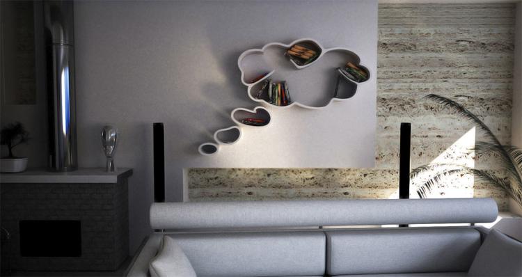daydreaming bookshelf Dripta Roy
